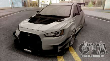 Mitsubishi Lancer Evolution X 2008 Varis para GTA San Andreas