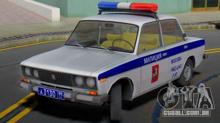 VAZ 2106 Polícia de Moscou para GTA San Andreas