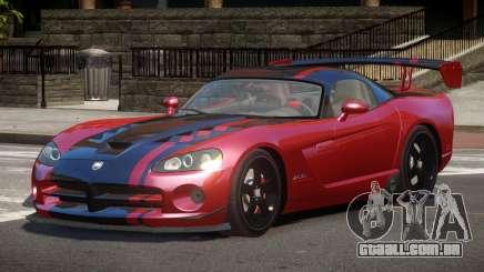 Dodge Viper SRT RG para GTA 4