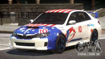 Subaru Impreza WRX SR PJ1 para GTA 4