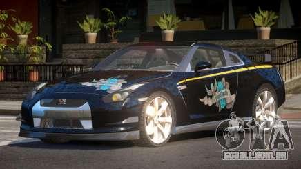 Nissan GT-R35 MS para GTA 4