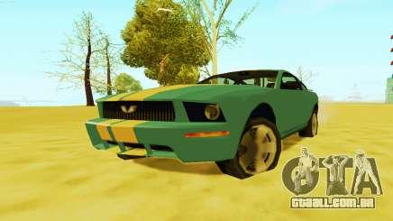 Ford Mustang 2005 (SA Style) para GTA San Andreas