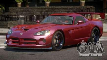 Dodge Viper SRT M-Sport para GTA 4