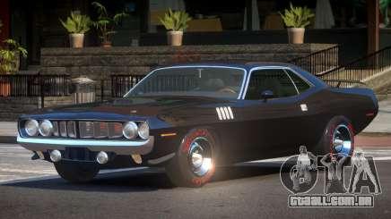 1969 Plymouth Cuda GT para GTA 4