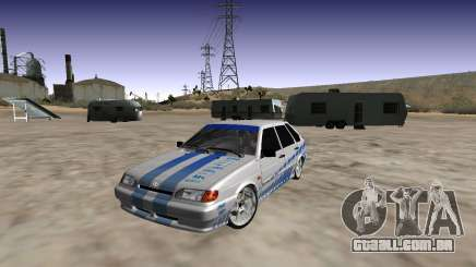 VAZ 2114 (Skyline R34 Paint Job) para GTA San Andreas