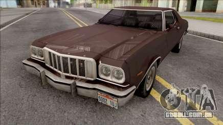 Ford Gran Torino 1976 Brown para GTA San Andreas