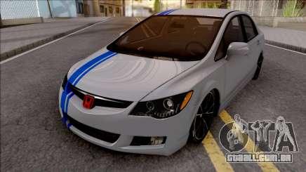 Honda Civic FD6 Grey para GTA San Andreas