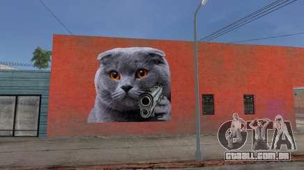 Mural del gatito kakkoí para GTA San Andreas