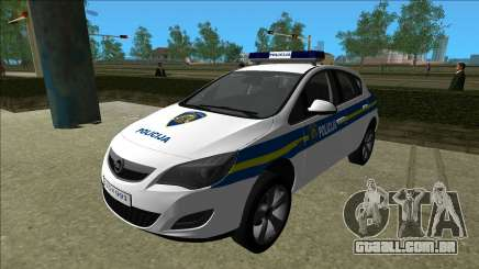 Polícia Croata Opel Astra para GTA Vice City