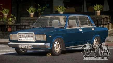 VAZ 2107 CK para GTA 4