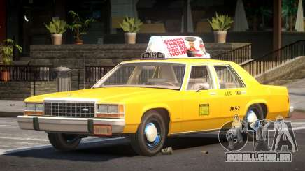 Ford LTD Crown Victoria Taxi V1.0 para GTA 4