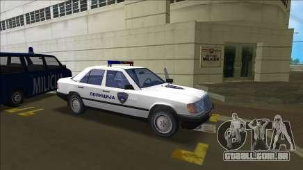 Norte Macedónio Polícia Mercedes para GTA Vice City