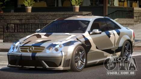 Mercedes Benz CLK63 SR PJ4 para GTA 4