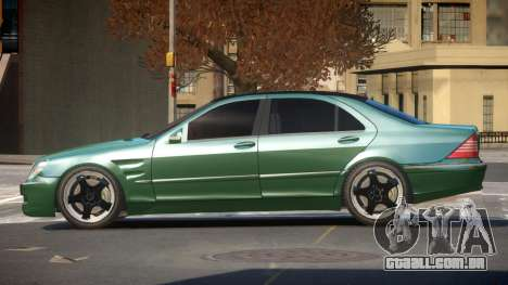 Mercedes Benz S550 V1.1 para GTA 4