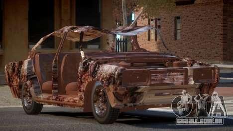 VAZ 2107 Rusty para GTA 4