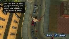 Airbreak - parada de tempo e voo livre para GTA San Andreas