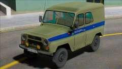 Uaz-469 Polícia de Leningrado