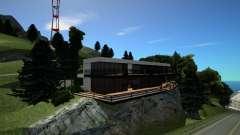 Campo De Golfe De Casa para GTA San Andreas