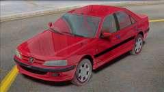 Fábrica Peugeot Pars TU5 para GTA San Andreas