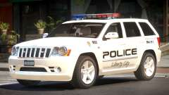Jeep Grand Cherokee Police V1.0 para GTA 4