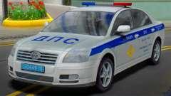 Toyota Avensis SOBRE a polícia de trânsito para GTA San Andreas