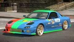 Mazda RX7 GST PJ1 para GTA 4