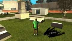 Correção das sepulturas no cemitério de Los Santos para GTA San Andreas