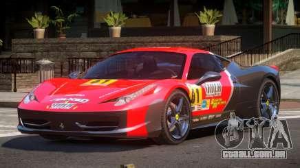 Ferrari 458 Italia GT PJ2 para GTA 4