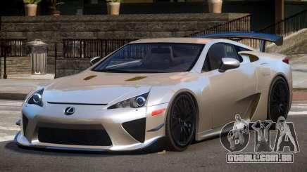 Lexus LFA RT para GTA 4