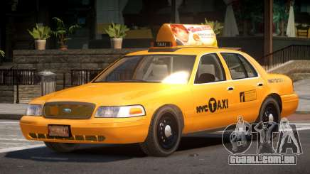 Ford Crown Victoria LS Taxi para GTA 4