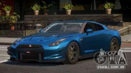 Nissan GTR V1.2 para GTA 4
