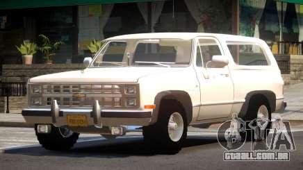 Chevrolet Blazer K5 OR para GTA 4