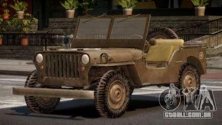 Jeep Willys FR para GTA 4