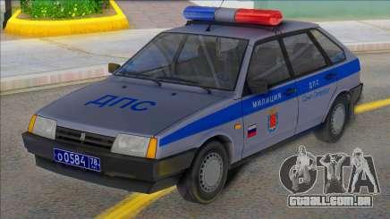 Vaz 2109 DPS de São Petersburgo para GTA San Andreas