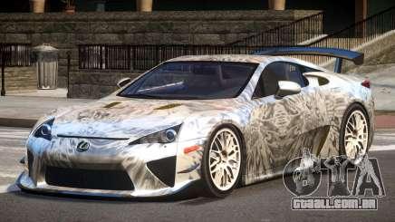 Lexus LFA RT PJ4 para GTA 4