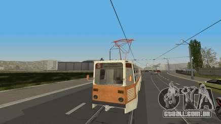 Bonde KTM-5M3 da Cidade jogo de Condução Automóvel para GTA San Andreas
