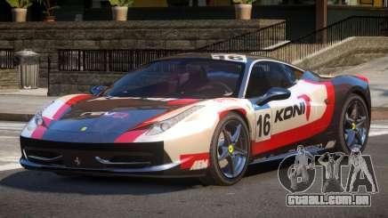 Ferrari 458 Italia GT PJ1 para GTA 4