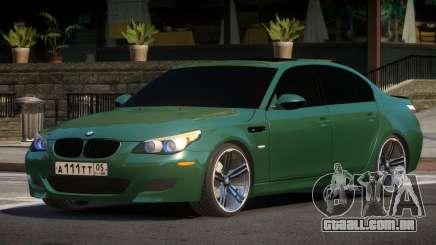 BMW M5 E60 MR para GTA 4