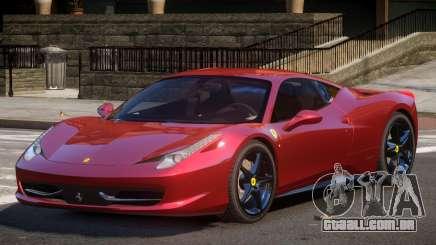Ferrari 458 Italia GT para GTA 4