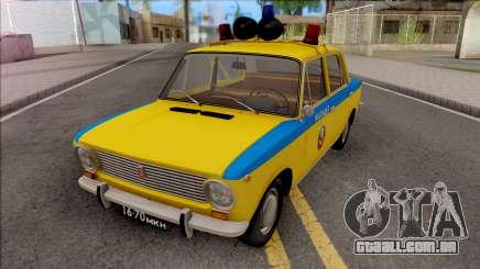 VAZ 2101 POLÍCIA DE TRÂNSITO 1975 para GTA San Andreas