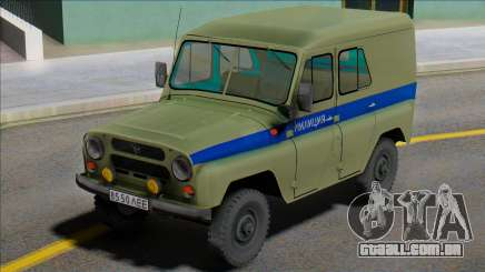 Uaz-469 Polícia de Leningrado para GTA San Andreas