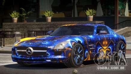 Mercedes Benz SLS AMG GS PJ3 para GTA 4