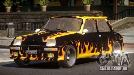 Renault 5 RS PJ3 para GTA 4