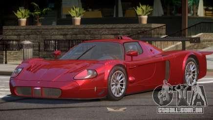 Maserati MC12 BS para GTA 4