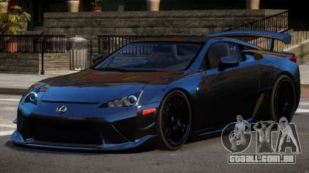 Lexus LFA RT PJ1 para GTA 4