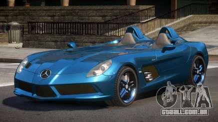 Mercedes Benz SLR Z199 para GTA 4