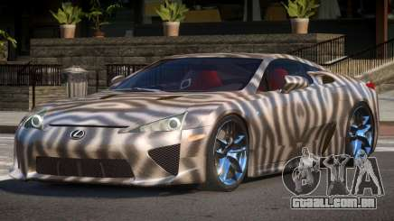 Lexus LFA R-Tuned PJ4 para GTA 4