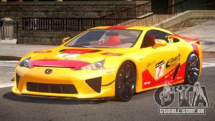 Lexus LFA Nurburgring Edition PJ4 para GTA 4