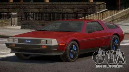 DeLorean DMC-12 RT para GTA 4