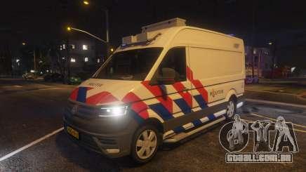 Volkswagen Crafter Police ELS para GTA 5